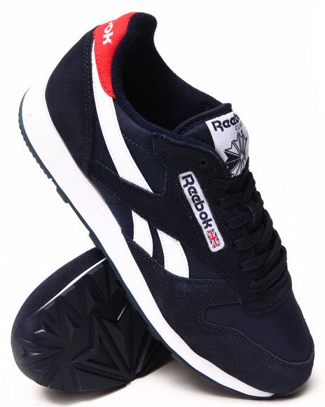 Reebok - Men Navy Classic Sport Sneakers