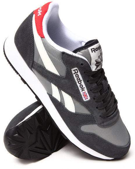 Reebok - Men Grey Classic Sport Sneakers