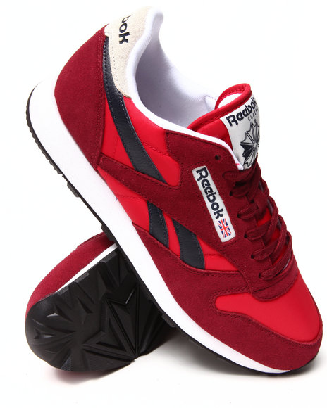 Reebok - Men Red Classic Sport Sneakers