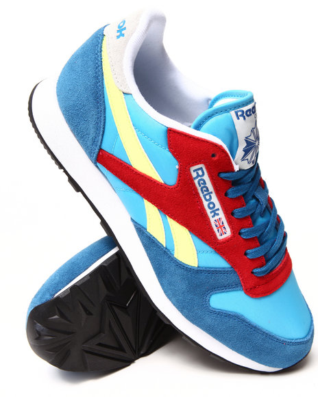 Reebok - Men Blue Classic Sport Sneakers