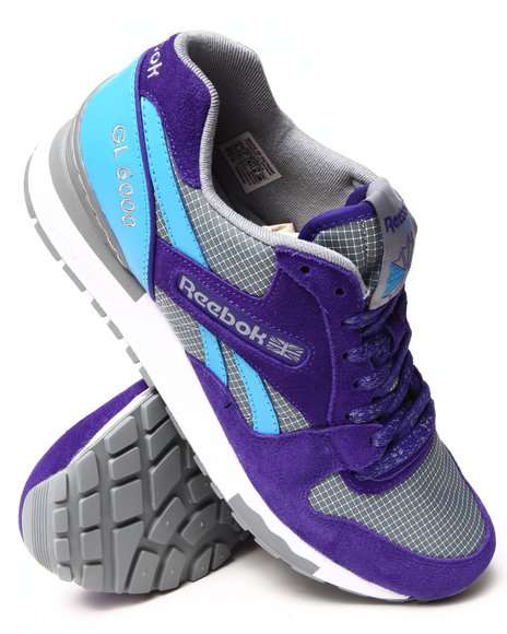 Reebok - Men Purple Gl 6000 Sneakers