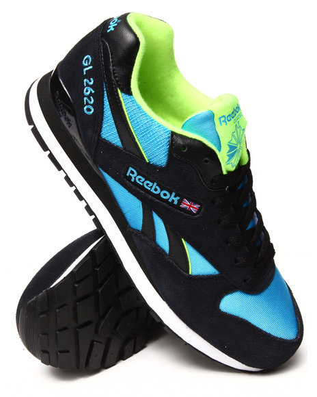 Reebok - Men Black,Blue Gl 2620 Sneakers