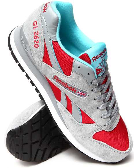 Reebok - Men Grey,Red Gl 2620 Sneakers