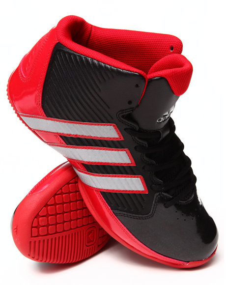 Adidas Black,Red Commander Td 5 Sneakers