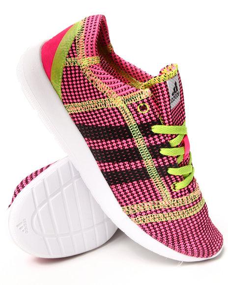 Adidas - Girls Pink Element Refine Js J Sneakers (3.5-7)