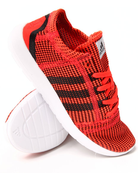 Adidas - Boys Red Element Refine Js J Sneakers (3.5-7)