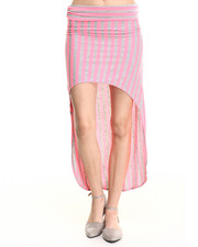 Women - King Fish High Low Skirt