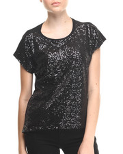 Women - Night - Time Sequined Top