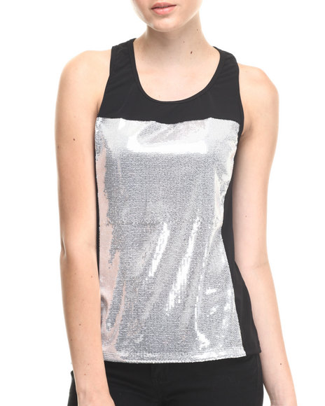 Walking Candy - White Noise Shiny Top