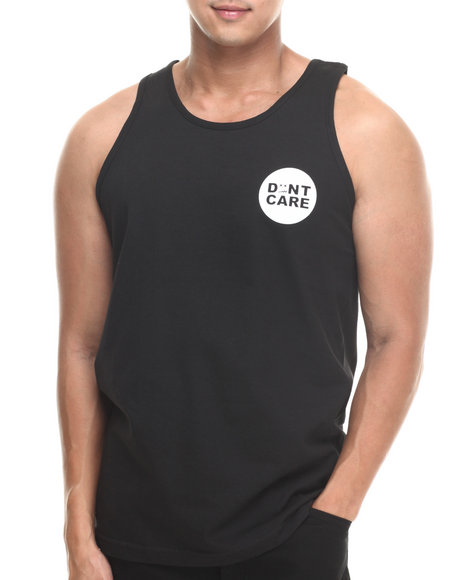 Don't Care Black Tanks