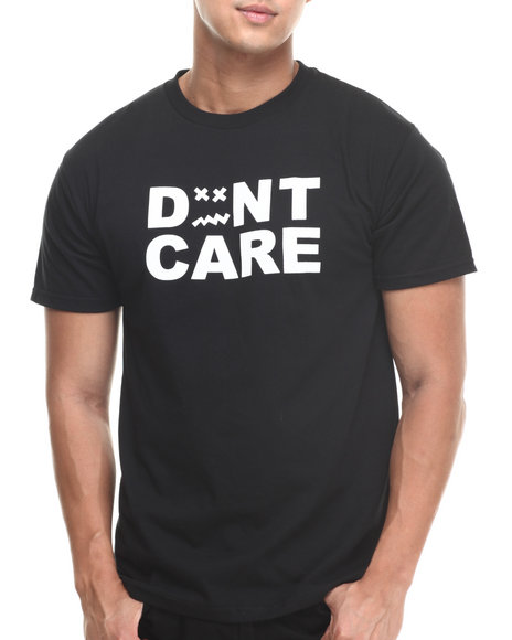 Don't Care Black Standard Don't Care Tee