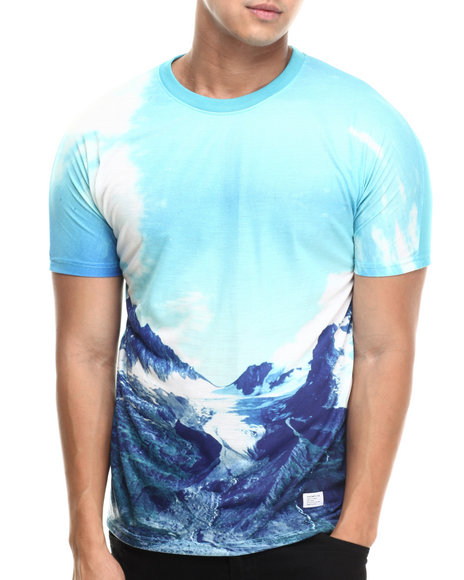 Akomplice - Men Blue Glacier Sublimation Tee - $28.99