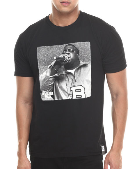 Invisible Bully - Men Black The Rhyme Slayer S/S Tee