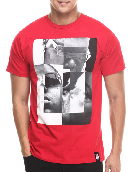 Invisible Bully - Men Red I B Big S/S Tee