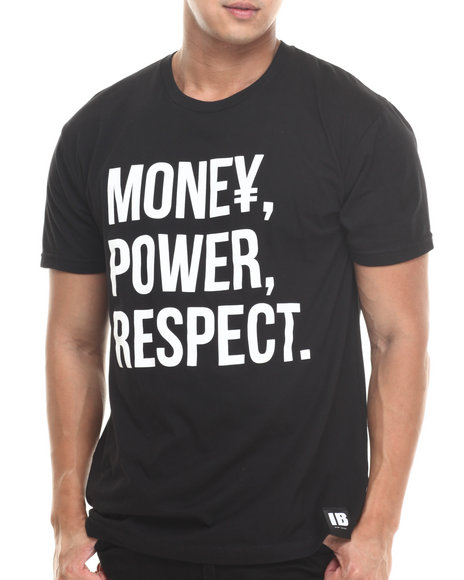 Invisible Bully - Men Black Essentials S/S Tee