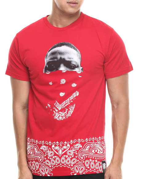 Invisible Bully - Men Red I B Legends Never Die S/S Tee