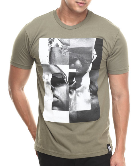Invisible Bully - Men Olive I B Big S/S Tee