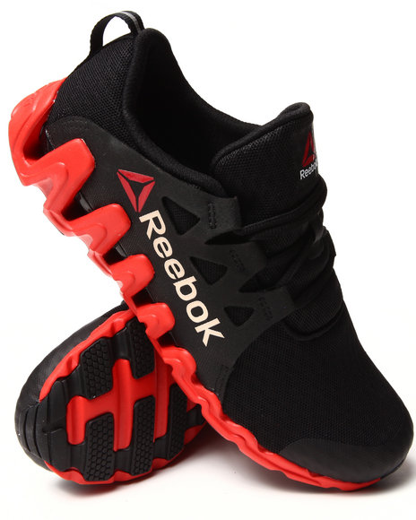 Reebok - Men Red,Black Zigtech Big & Quick Sneakers