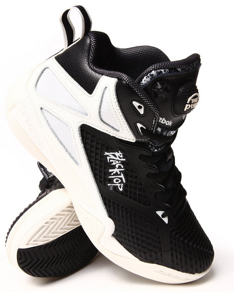 Reebok Black Blacktop Retaliate Sneakers