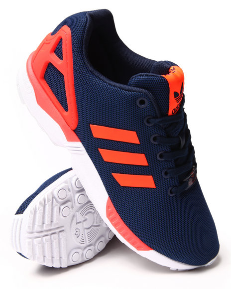 Adidas - Men Navy Zx Flux Enhanced Sneakers