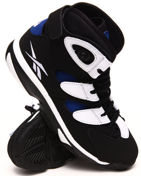 Reebok - Men Black Shaq Attaq Iv Sneakers