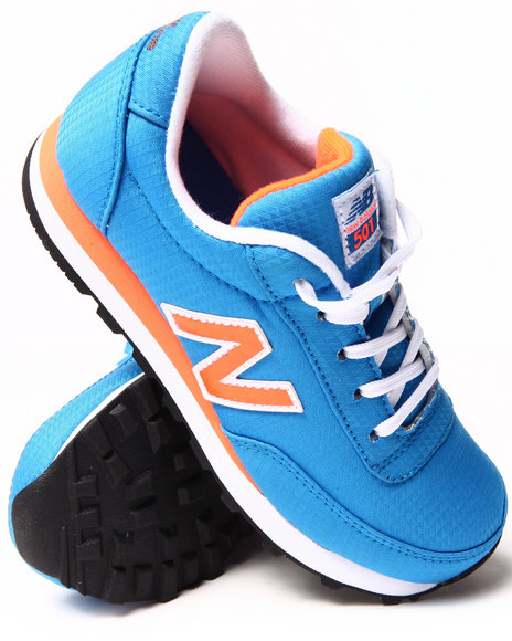 New Balance Boys Blue 501 Wind Breaker Sneakers (11-7)