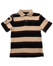 Boys - BOLD Y/D STRIPE POLO (4-7)