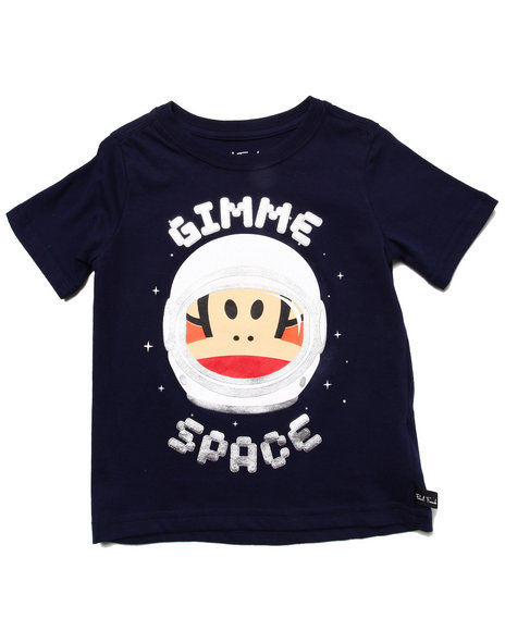 Paul Frank Boys Navy Gimme Space Tee (2T-4T)
