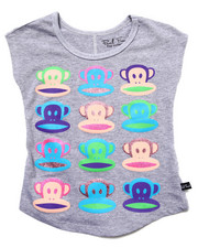 Paul Frank - MULTI JULIUS FACES TEE (4-6X)