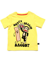Girls - SHAKIN' BACON TEE (2T-4T)
