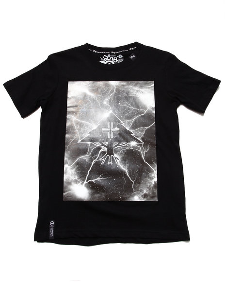 LRG Boys Black Tree Striker Tee (8-20)