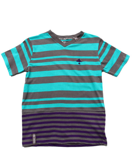 LRG Boys Teal Retro Revival Tee (8-20)