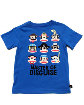 Paul Frank - MASTER OF DISGUISE TEE (4-7)
