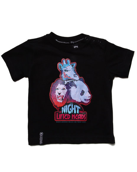 LRG Boys Black Night Of The Lifted Heads Tee (Infant)