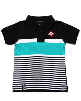 LRG - STAY LIFTED POLO (2T-4T)
