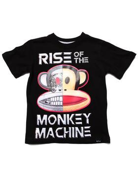Paul Frank - MONKEY MACHINE TEE (4-7)