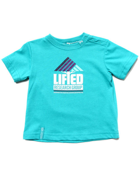 LRG Boys Teal Lifted Research Tee (Infant)