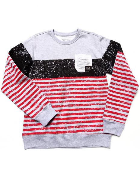Parish Boys Grey Crewneck Parish Life Sweatshirt (8-20)