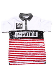 Boys - Cut & Sew Polo (8-20)