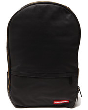 Boys - Black Stashed Jewels Wax Coated Backpack