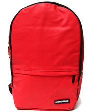 Boys - Red Stashed Jewels Wax Coated Backpack