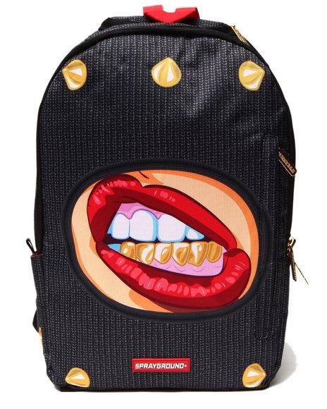 Sprayground Ski Mask Backpack Black