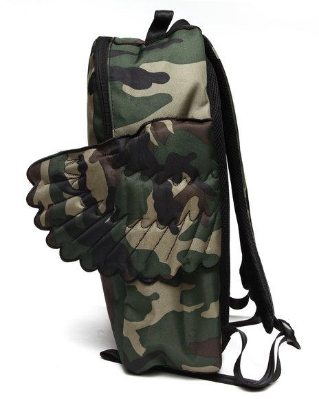Sprayground Black Pyramid Winged Backpack Camo
