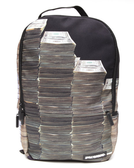 Sprayground Money Stacks Backpack Black