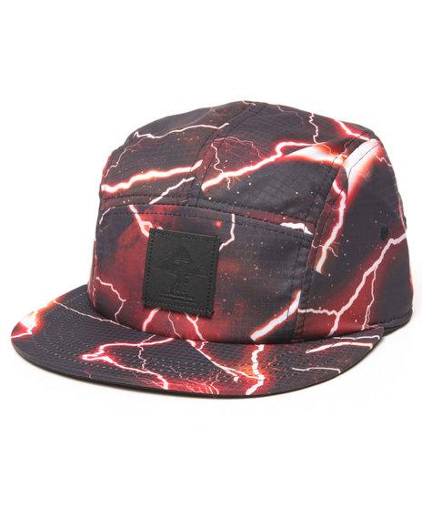 Ur-ID 222905 LRG - Men Black Cycling 5 - Panel Hat