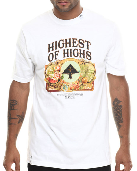 Lrg - Men White Highest Of Highs S/S Tee