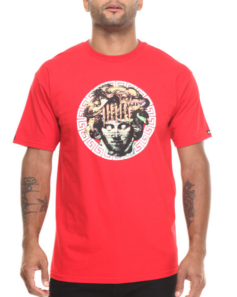 Crooks & Castles - Men Red Vices T-Shirt