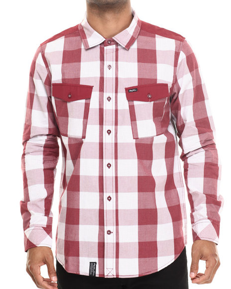 LRG - Side To Side L/S Button-Down