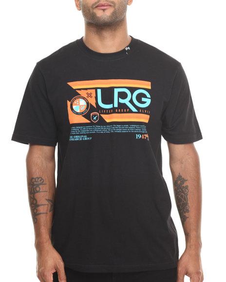 Lrg - Men Black Retro Revival S/S Tee