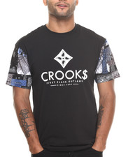 Crooks & Castles - Flags T-Shirt
